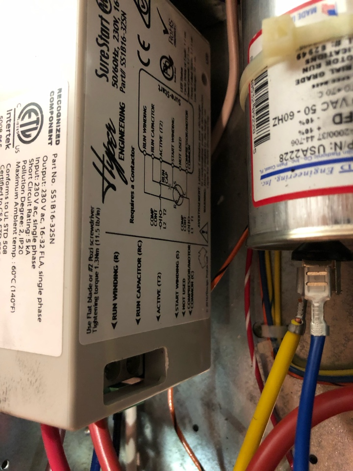 Hartwell, GA - Complete Geothermal heat pump system repairs. Now cooling very well. Compressor soft start system helps prevent light dimming and extends compressor life.