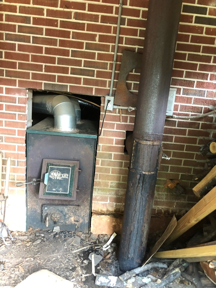 Lavonia, GA - Complete assessment and measurements to calculate amount to Replace A/C system. Home had been heated with wood fired heater and window air conditioners. Central ducted high efficiency heat pump system needed for safe, healthy & energy efficient comfort.