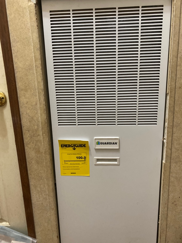 Canon, GA - Change out Guardian air handler, and outdoor unit, with cross over and lineset.