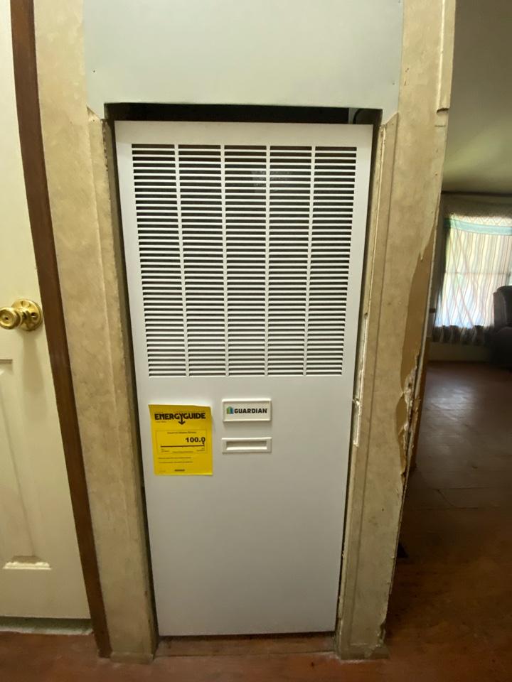 Canon, GA - New indoor and outdoor heat pump