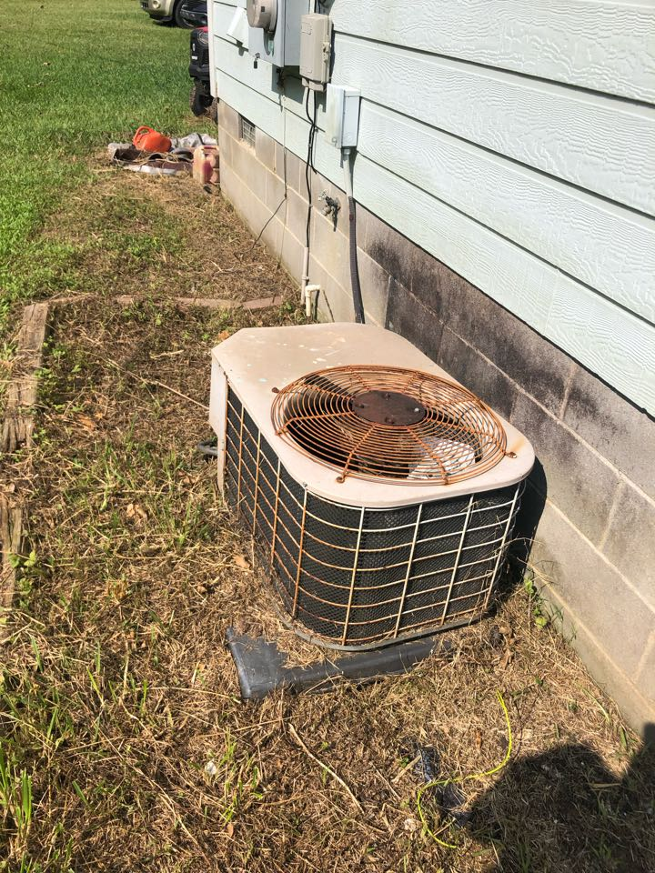 Elberton, GA - Complete assessment on old Fraser Johnston AC system with estimate options for replacement with New High Efficiency York heat pump system for safe, healthy, energy efficient comfort.