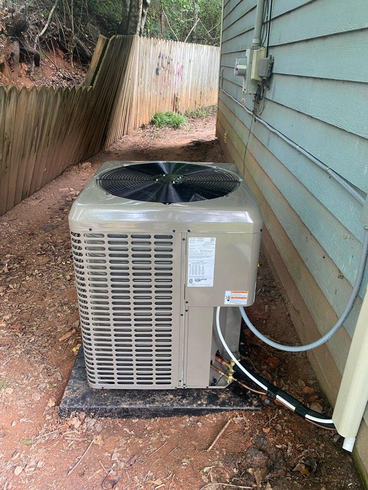 Toccoa, GA - New heat pump systems