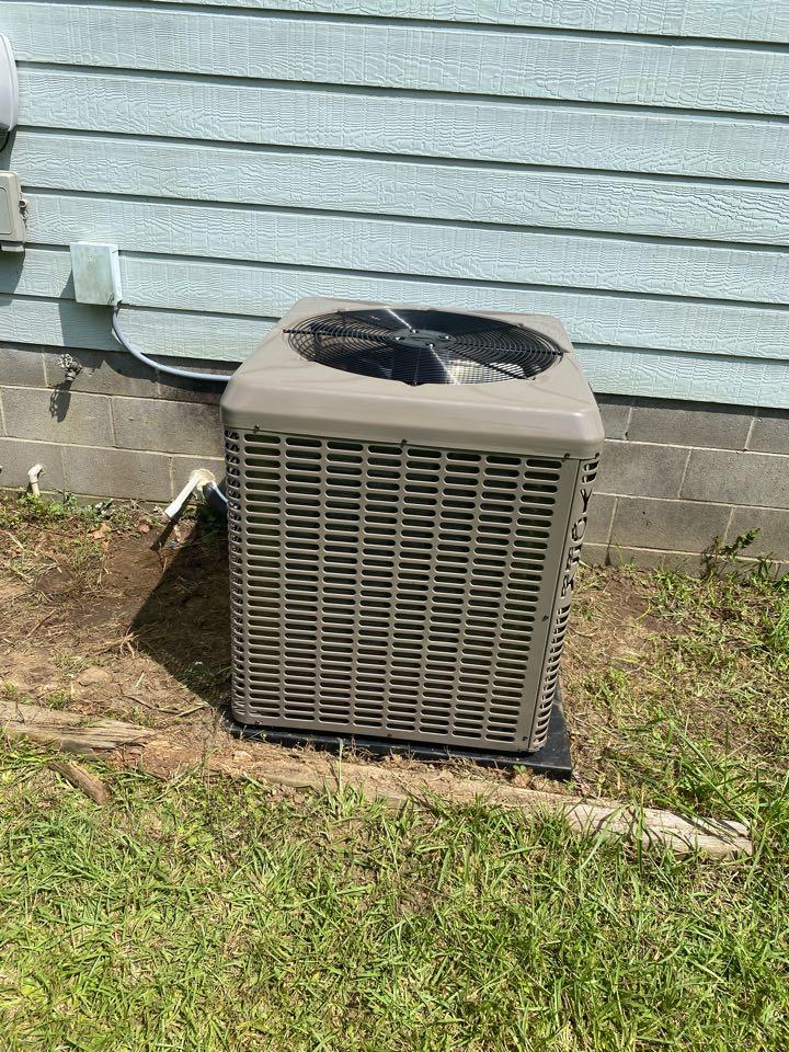 Elberton, GA - Heat pump system install