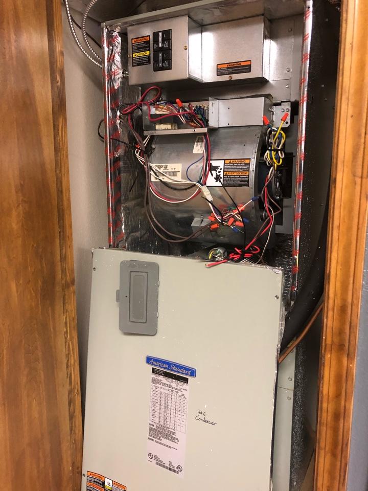 Canon, GA - Repair air conditioning system at church fellowship hall with failed blower motor