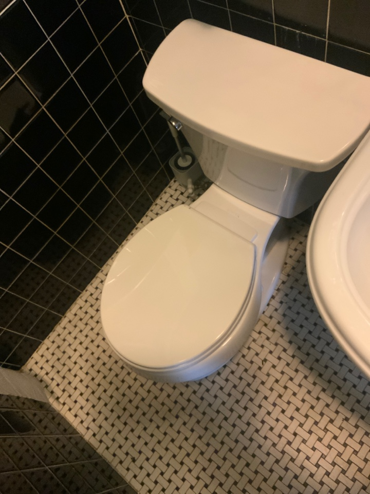 Park Ridge, IL - Install new toilet. For all your plumbing sewer heating and cooling needs call Aqua today