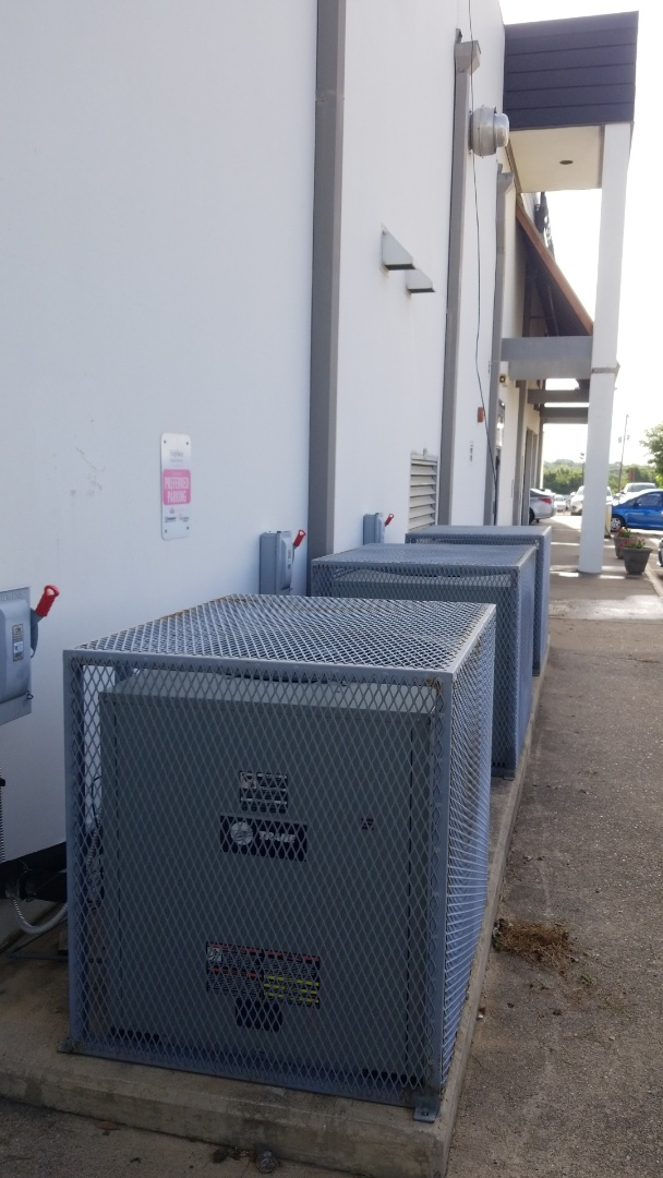 Installing a Energy system on a collision body shop in west forth worth tx