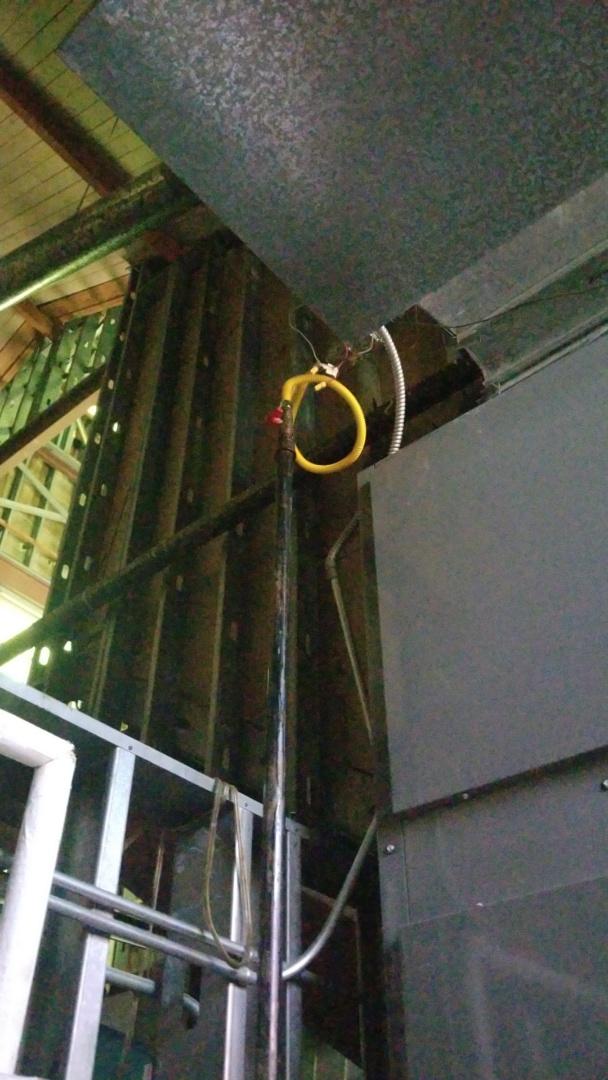 Kaufman, TX - Working on a leak for St. Anns Church in Kaufman