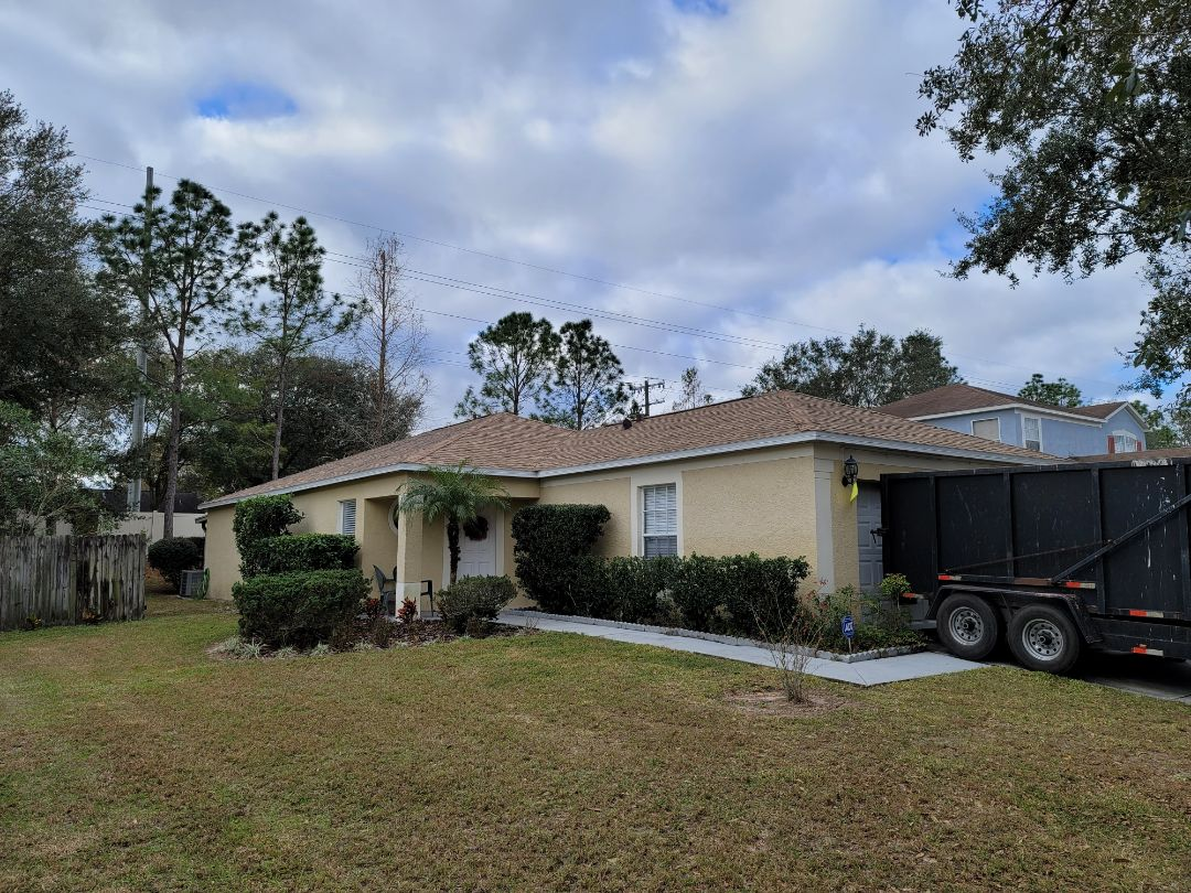 Seffner, FL - Completed install of GAF Timberline hdz Shakewood yesterday afternoon. Nice little home, one day install.