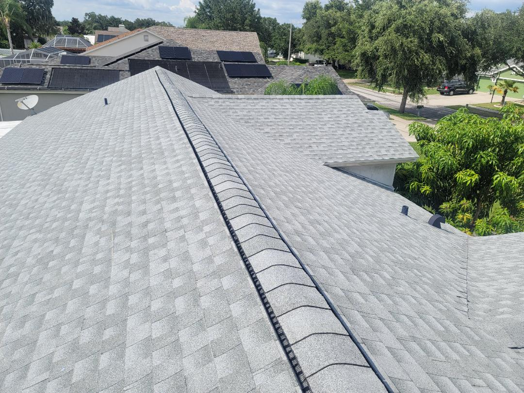 Riverview, FL - Installed 36 sq of GAF Birchood today in Riverview.