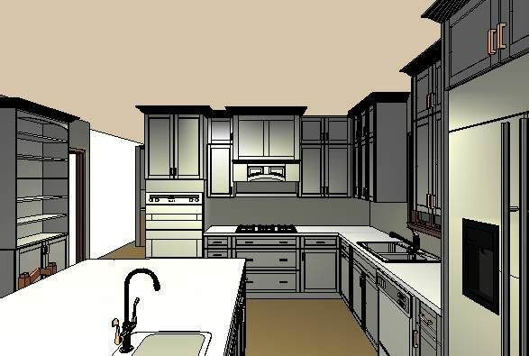 Skokie, IL - Working on a kitchen remodeling estimate in Evanston, IL