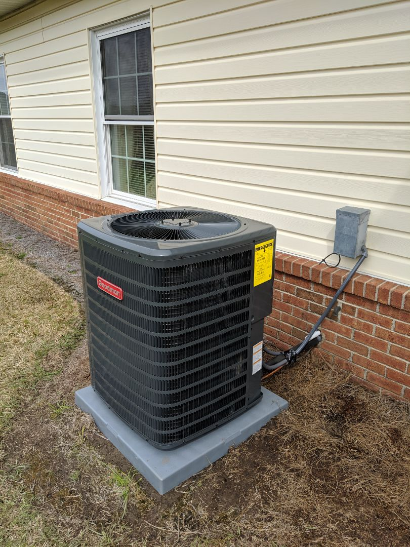 Smithfield, NC - Installed heat pump