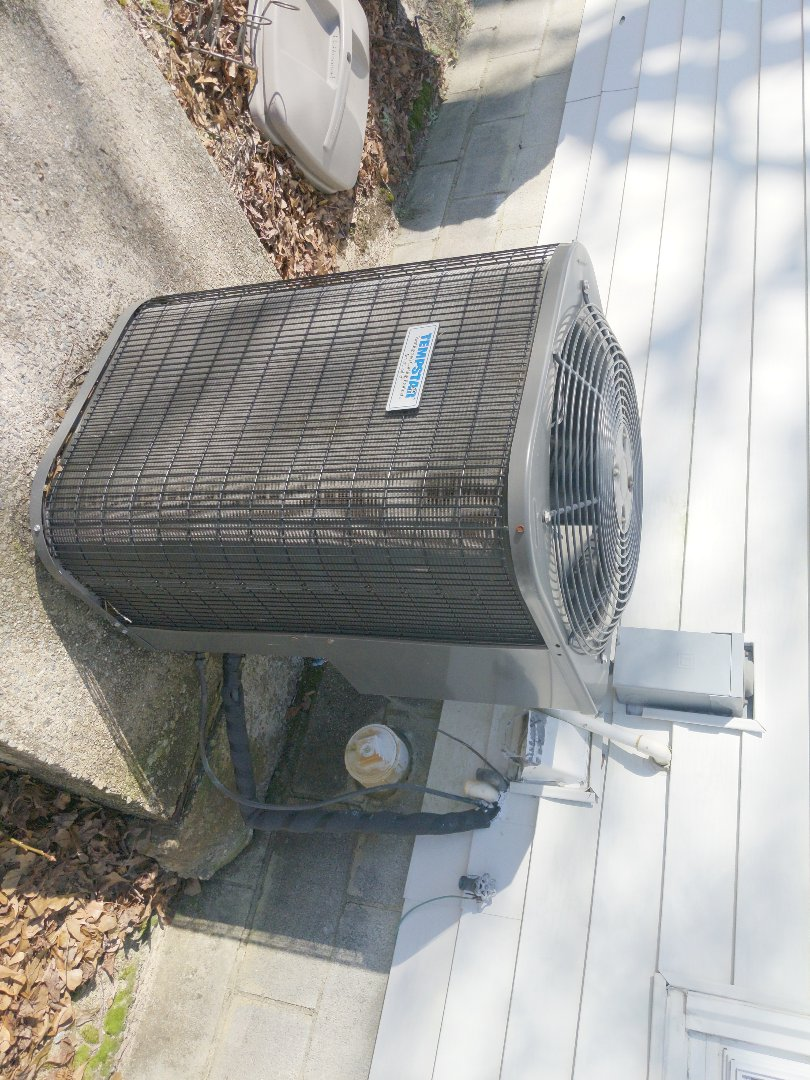 Pleasant Grove, NC - Replacing fan motor on a heat pump.