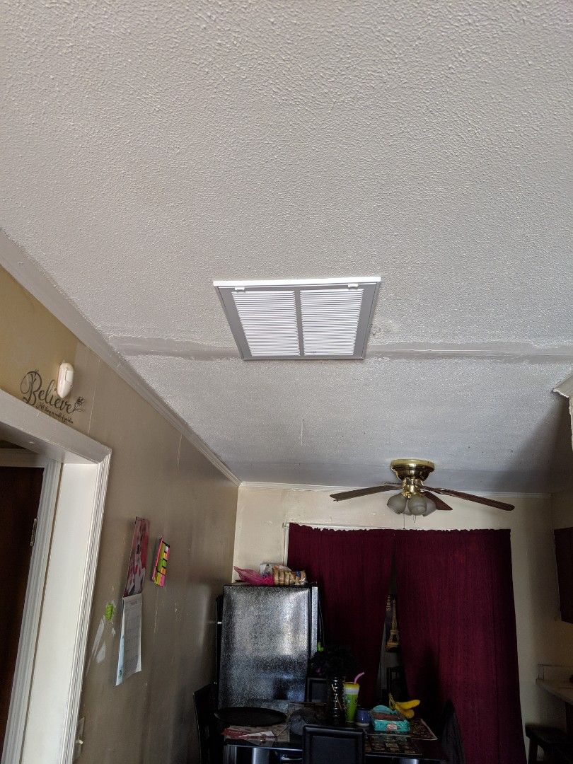 Fayetteville, NC - Installed a return and insulted duct