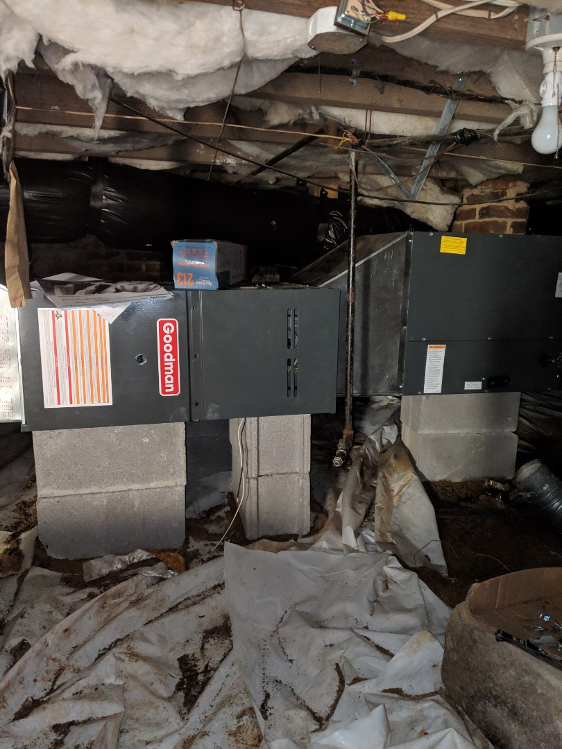Durham, NC - Installed gas furnace
