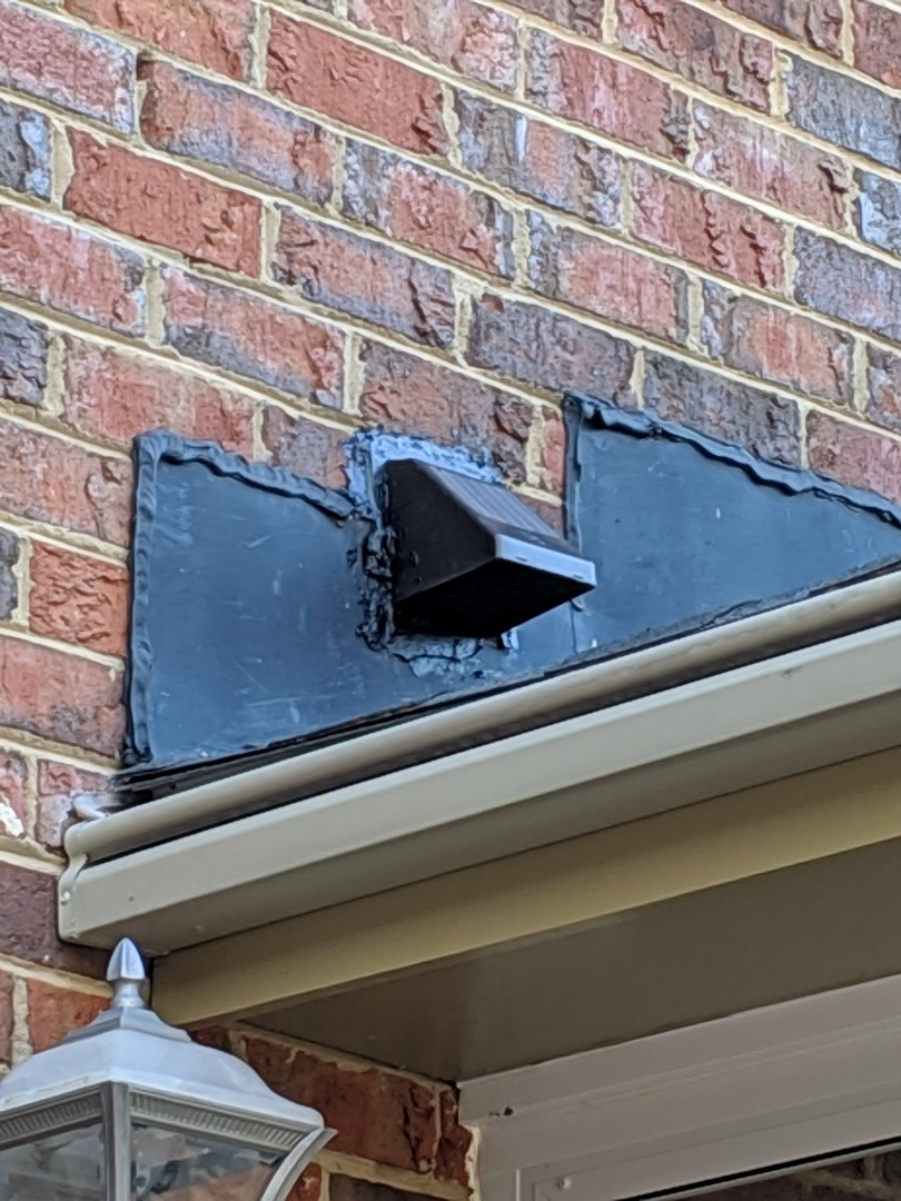 """Raleigh, NC - Replaced 3"""" wall cap"""