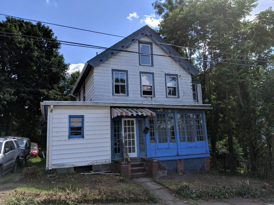 Beacon, NY - Home inspection for a bank.