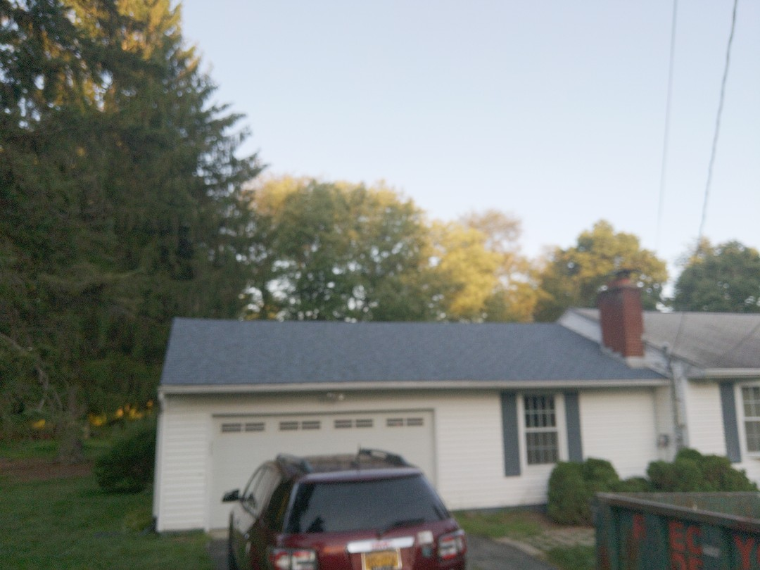 Hyde Park, NY - Inspecting the roof replacement