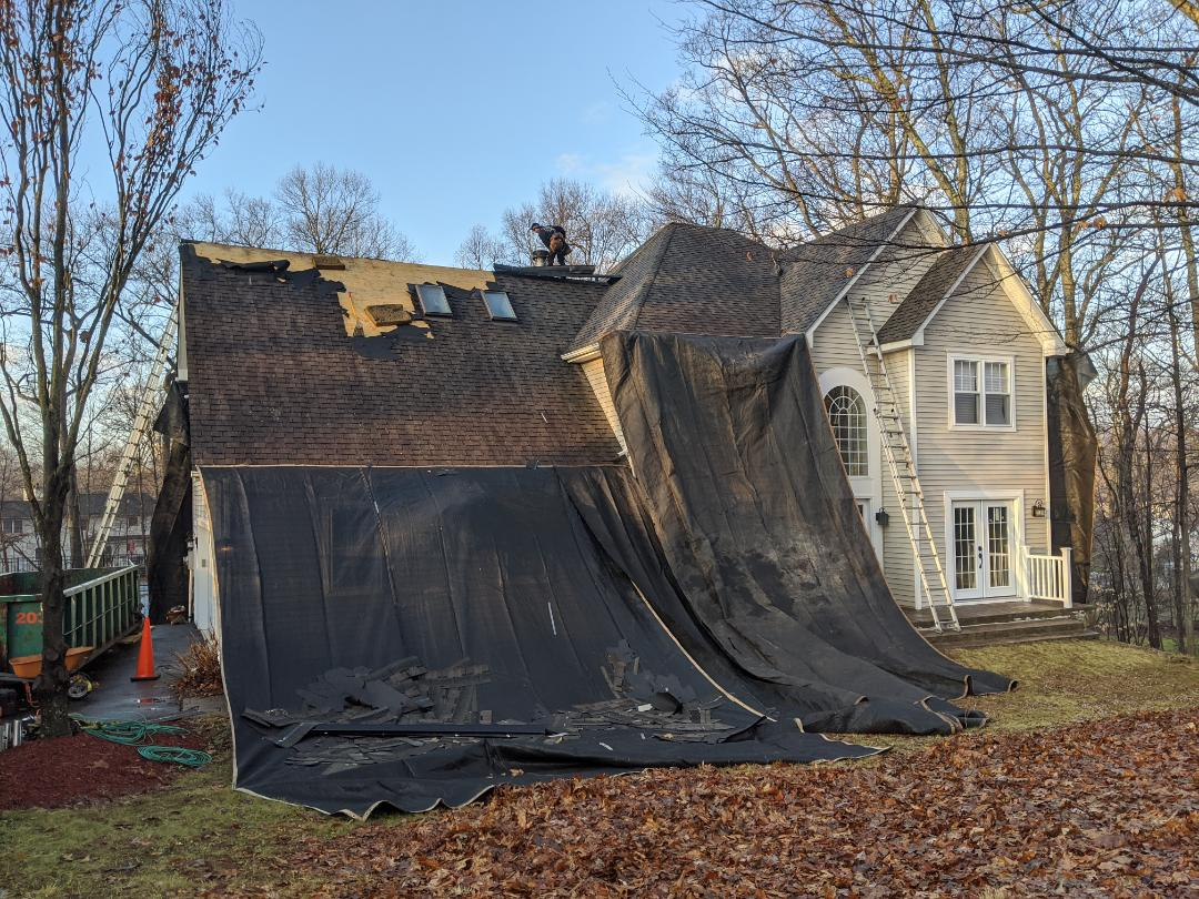 "Hopewell Junction, NY - Day 1 of a ""Roof Replacement"""