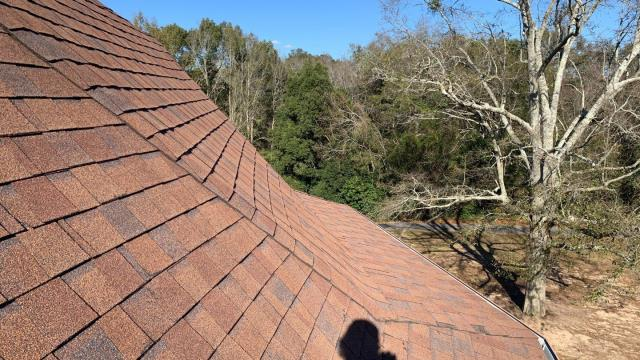 Mobile, AL - We are inspecting the roof on this church in Mobile, AL
