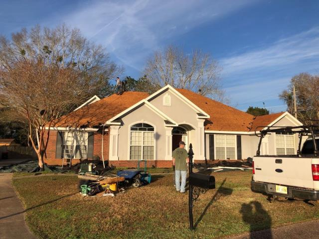 Mobile, AL - We are installing the roof on this house in Mobile, AL