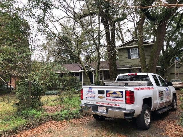 Mobile, AL - We are about to start replacing the roof on this house in Mobile, AL