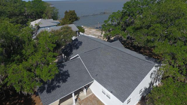 Gulf Shores, AL - WE replaced the roof on this house in Gulf Shores, AL