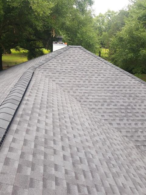 Creola, AL - We replaced the roof on this house in Mobile, AL