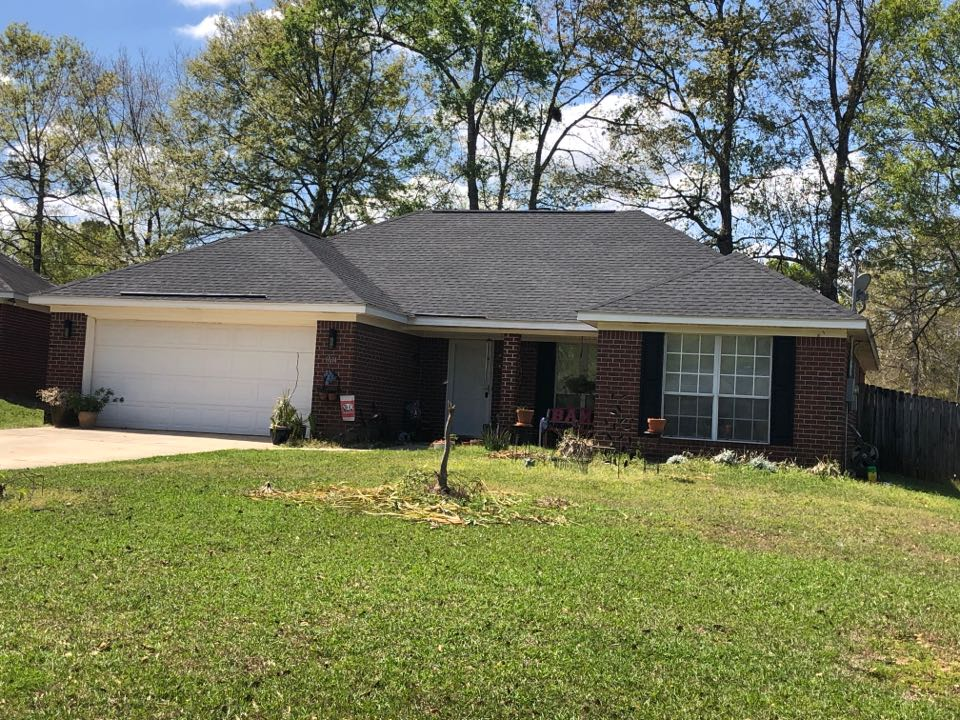 Theodore, AL - We installed a new roof in Mobile Alabama