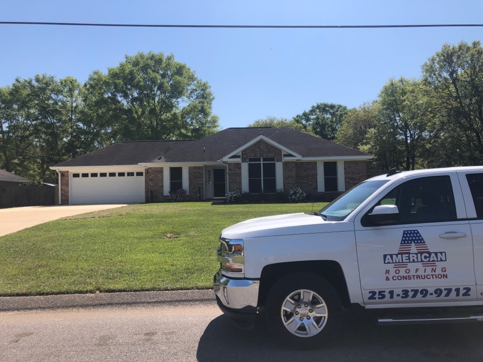 Grand Bay, AL - We are inspecting this house to install a new roof in Mobile Alabama