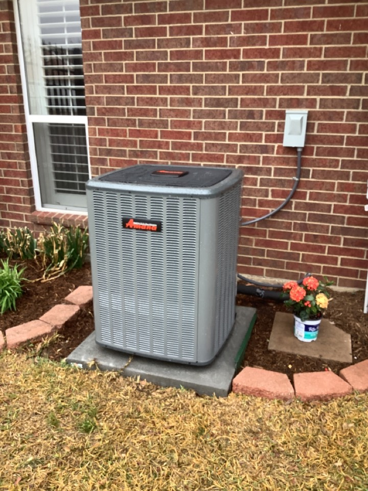 Midlothian, TX - Newly installed amana complete heat pump system