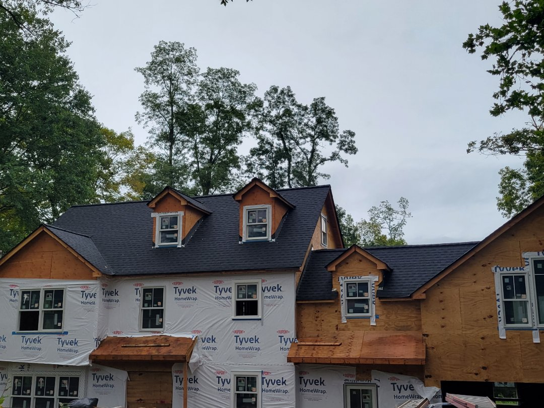 Mendham, NJ - New GAF Timberline HDZ Roof in Charcoal