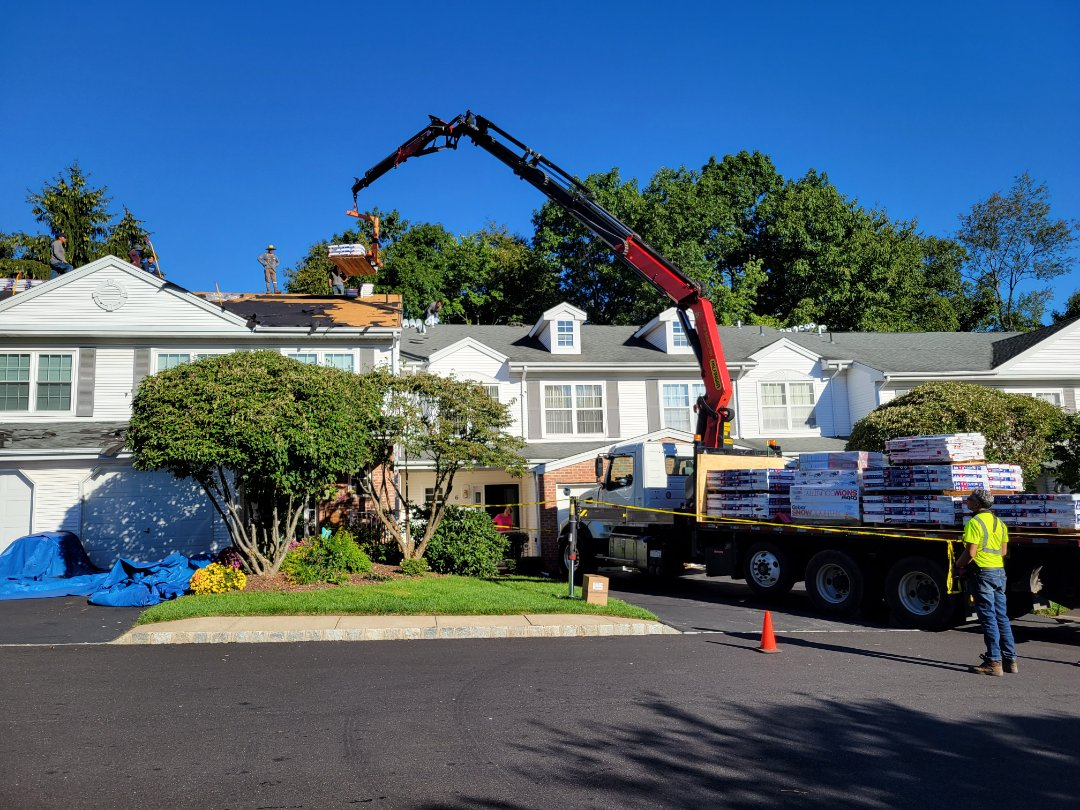 Mount Arlington, NJ - New GAF Timberline HDZ Roof on this townhome complex