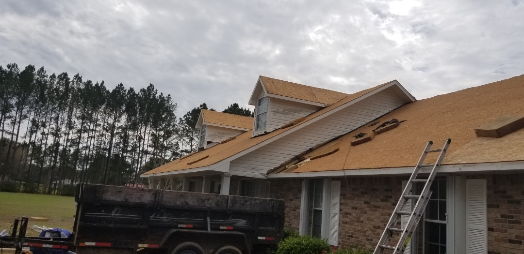 Tear off dimensional shingles down to wood decking ,install summit 60 underlayment, painted steel eave metal,atlas pristine shingles with scotchgard protection, lomanco shingle over ridge vent