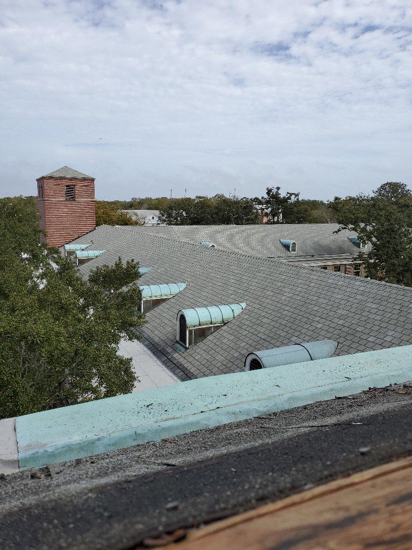 Nas Pensacola Fl shingles flat roof copper