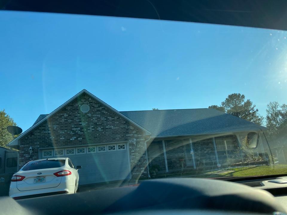 New pristine atlas roof