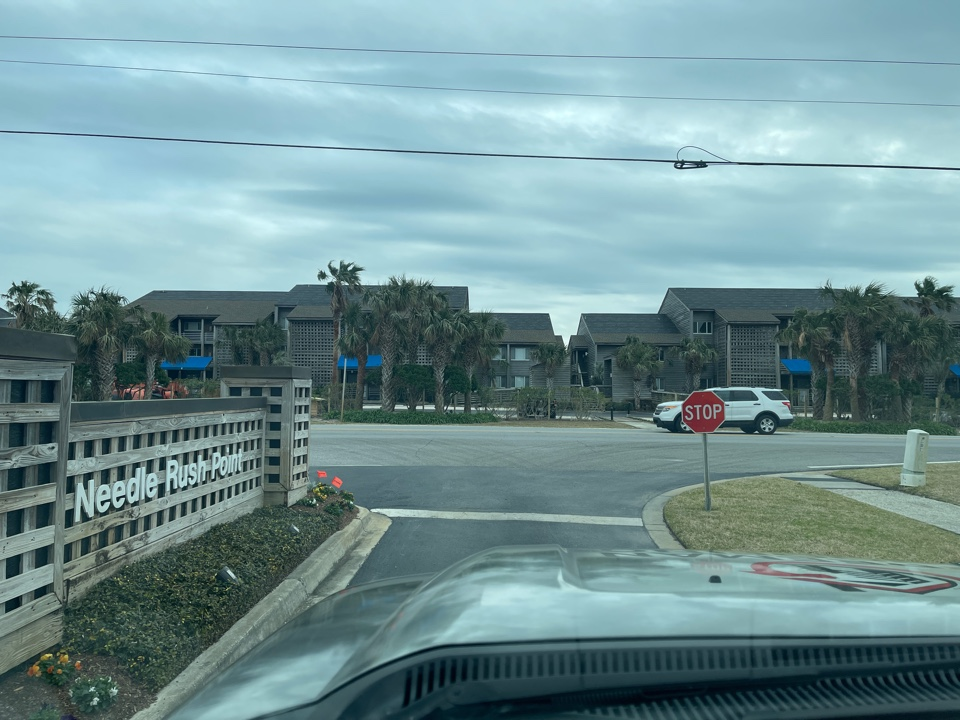 Pensacola, FL - Freeman Roofing bidding on a roofing project at Needle Rush Point today in Perdido Key, FL