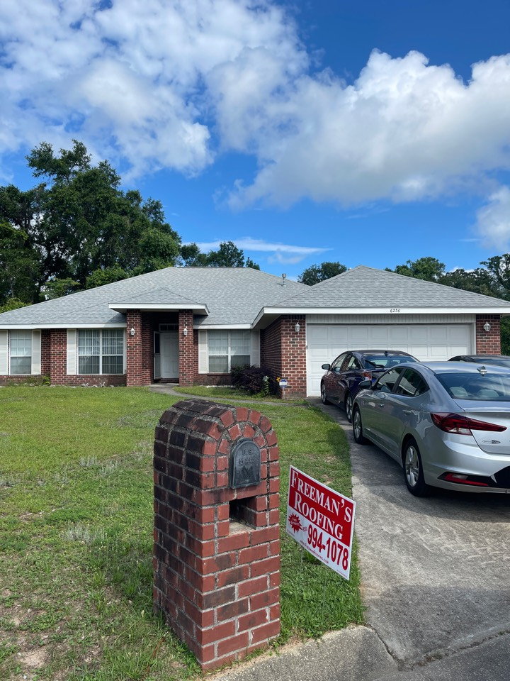 Pensacola, FL - Another amazing job by our crew at Freeman Roofing! Atlas Shingles Freeman Roofing
