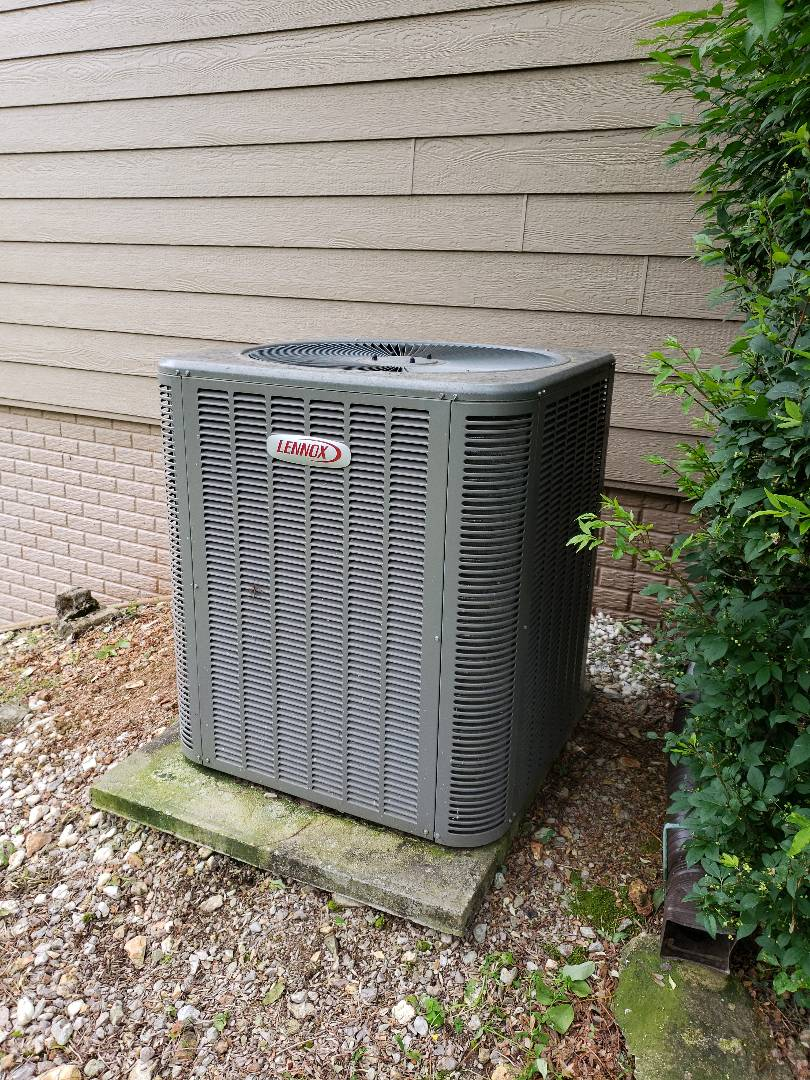 Kimberling City, MO - Came out to change out warranty indoor coil on a Lennox heatpump. Got it changed out and adjusted the charge to optimize performance.