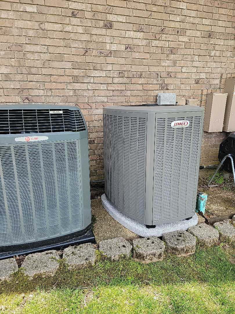 Galena, MO - Came out to install a merv 11 filter on a new lennox heatpump. Got the filter installed and working properly.