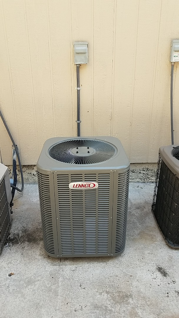 Kimberling City, MO - Brand new Lennox a/c unit with back up emergency heat