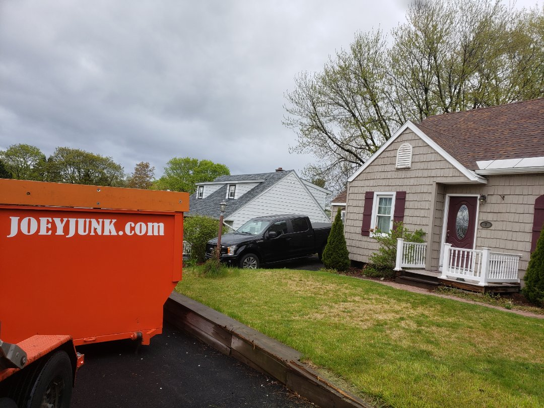 Latham, NY - Early morning 20 yd dumpster drop for a clean out in Latham  New York 12110
