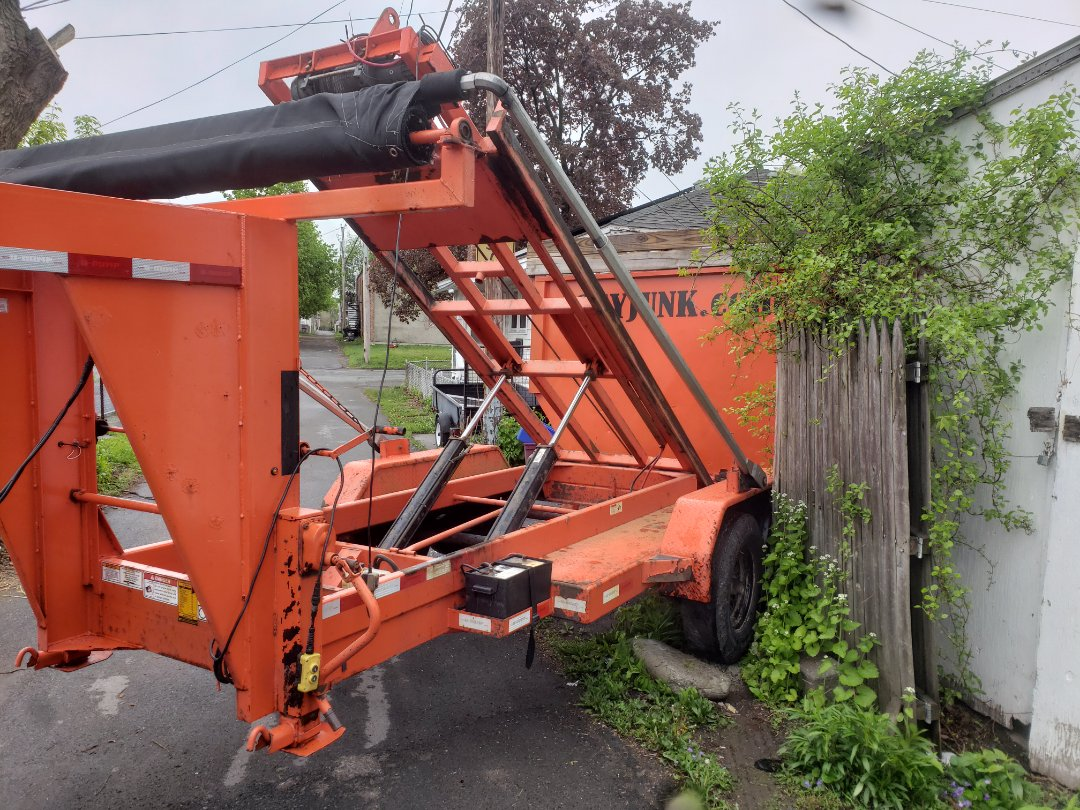 Troy, NY - Do you need a 20 yd dumpster put in a harder and  unusual spot call Joeyjunk.com 518-237-junk