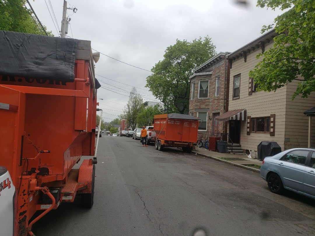 Troy, NY - Big clean out for repeat customer today. Troy New York 12180 .