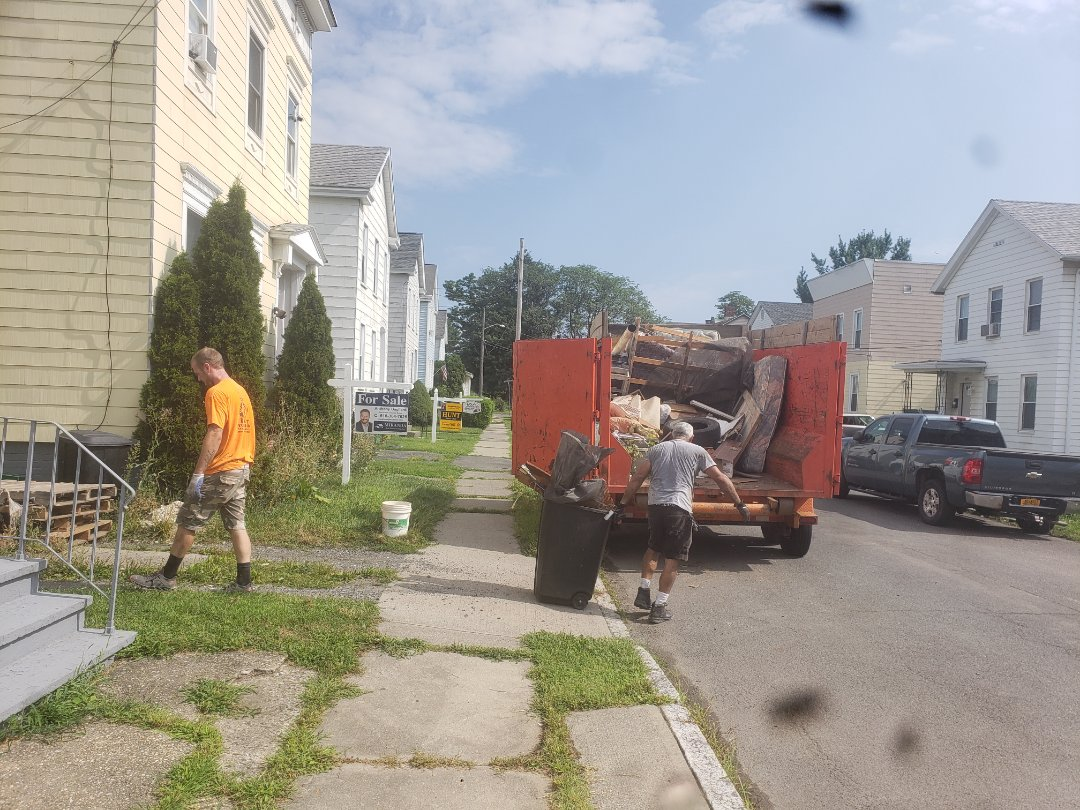 Watervliet, NY - Large cleanout in Watervliet NY,12189.