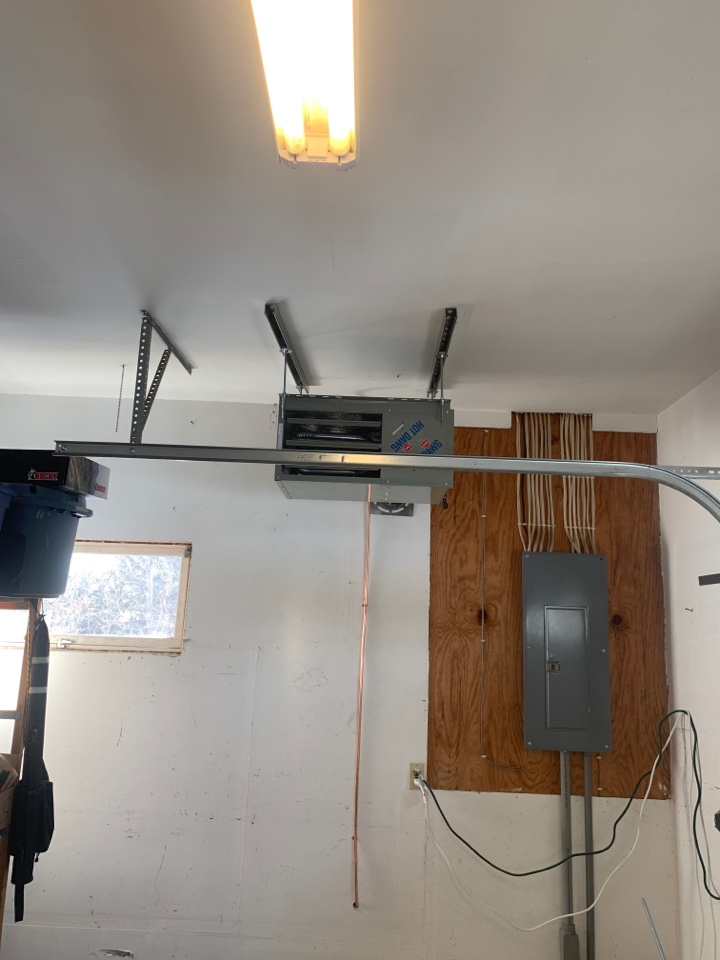 Mound, MN - Installed new garage heater, and gas line.