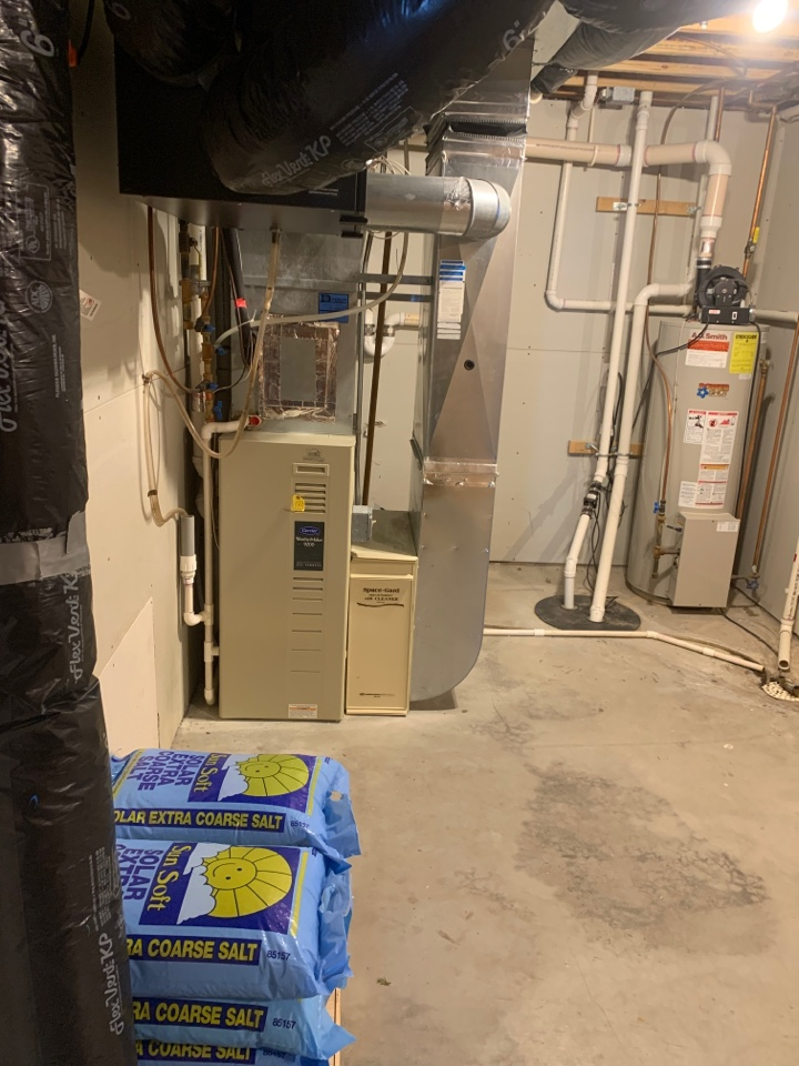 Mound, MN - New furnace & ac install