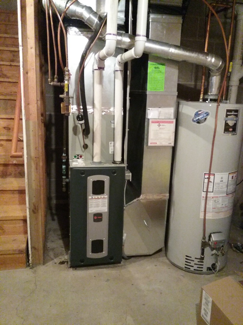 Saint Bonifacius, MN - Replace furnace, a/c, thermostat,  whole house humidifier,  high efficiency filter