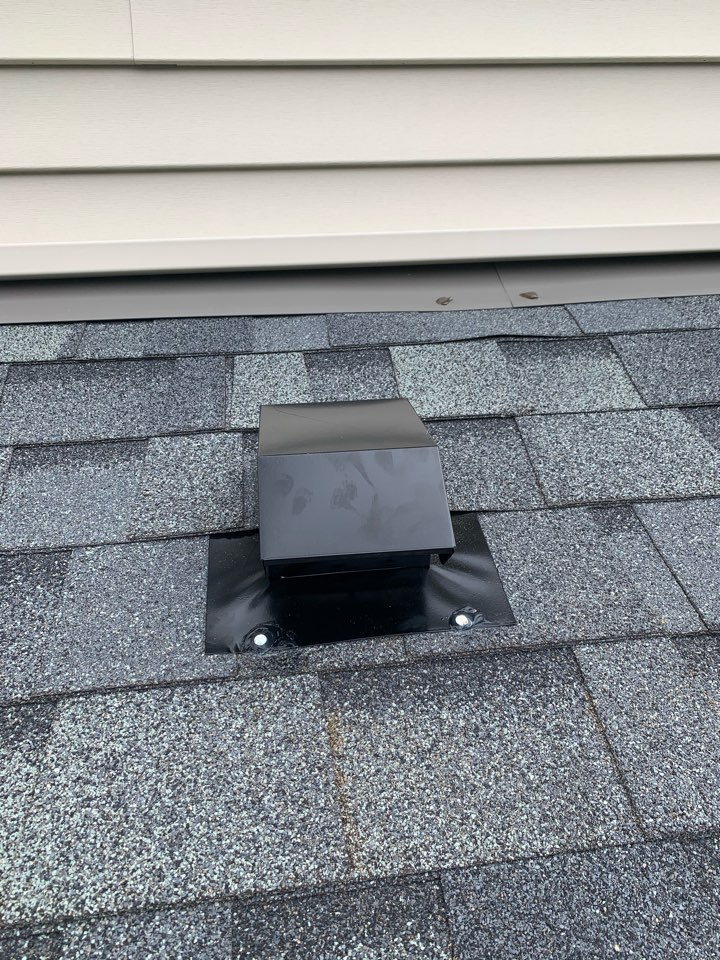 Minneapolis, MN - New bath fan and roof vent
