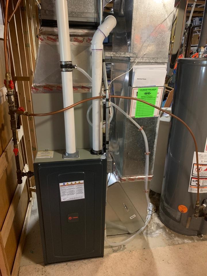 Saint Bonifacius, MN - New furnace A/C and Humidifier!