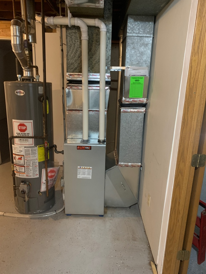 Andover, MN - Mew Furnace and Ac